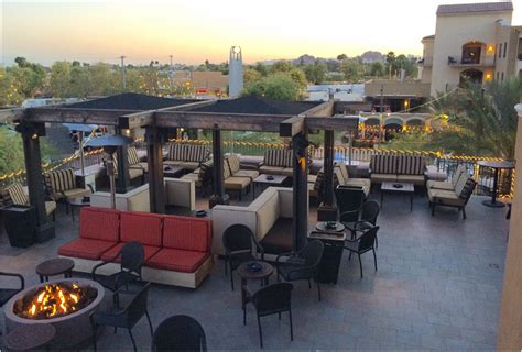 top bars in phoenix best rooftop bars in phoenix scottsdale lustre bar