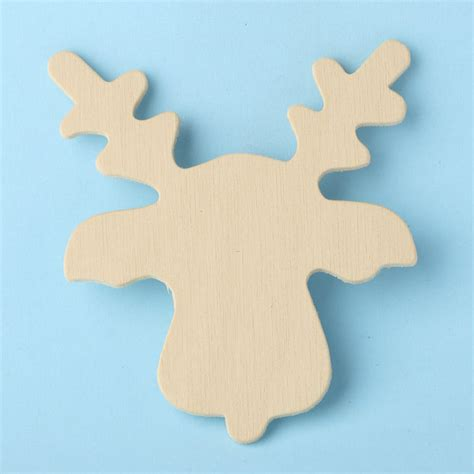 pattern for wood cutouts unfinished wood reindeer cutout wood cutouts