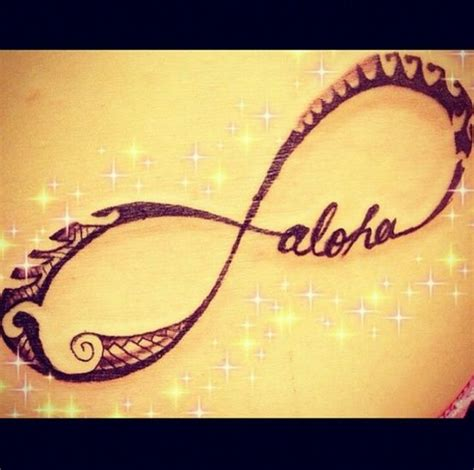 hawaiian infinity tribal tattoo wouldn t get this but it