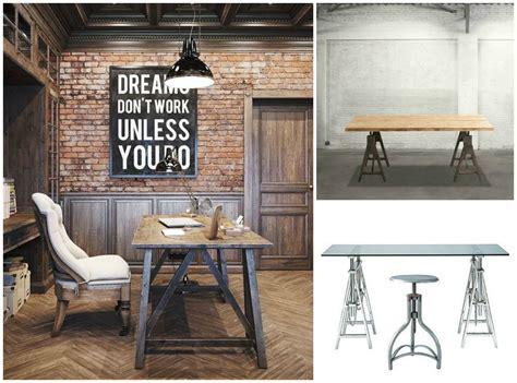 costruire scrivania legno ufficio fai da te scrivania con cavalletti e lada di legno