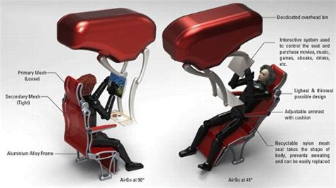 i the way you lean that seat back future of airline seating airgo could make flights more