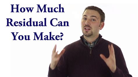 Quot How Much Residual Can You Make Quot Introduction To Credit