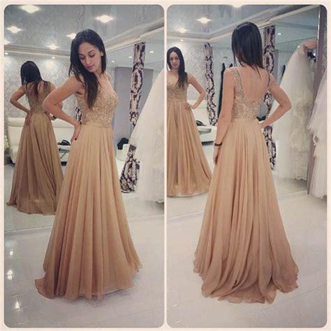 Glamours Dress aliexpress buy glamorous chagne lace prom