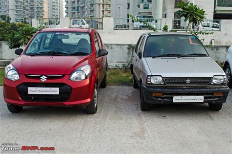 How Big Is A 2 Car Garage by Maruti Alto 800 Official Review Team Bhp