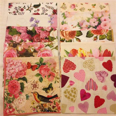 Napkins For Decoupage - 10 paper napkins for decoupage decoupage paper decoupage