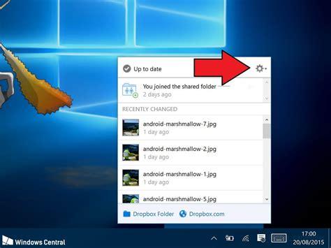 dropbox windows 10 how to sync your dropbox folders to windows 10 windows