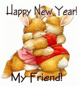 happy new year my friend a great hug mania scraps