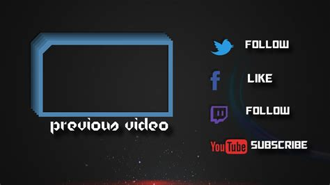 outro cards template outro2 rolling gold letters outro template for sony vegas