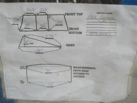 bayliner boats repair bayliner cuddy capri 1984 boat walk through windshield
