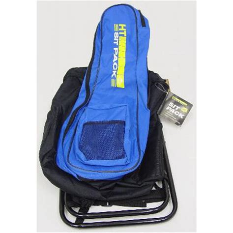 folding fishing chair backpack h t enterprises sit pack folding backpack chair 189255