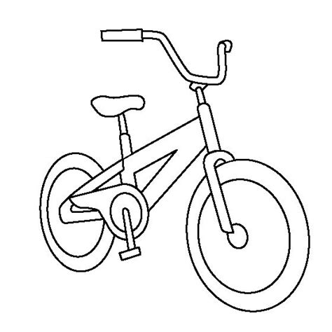 bicycle coloring sheets projecten om te proberen