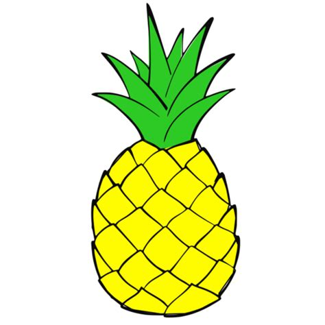clipart pineapple 50 pineapple clipart images free download 2018