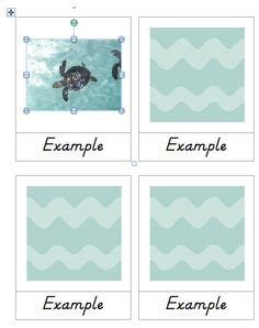 montessori card set template montessori on montessori printables and