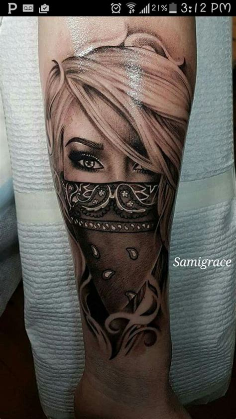 46 best bandana tattoo designs images on pinterest