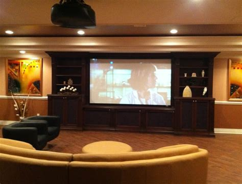 projector or tv for media room media cave home theater projector rooms contemporary