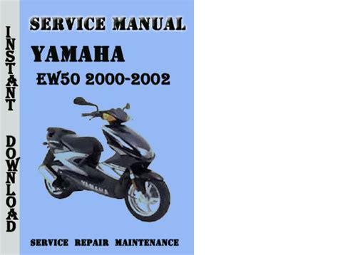 yamaha ew50 2000 2002 service repair manual pdf