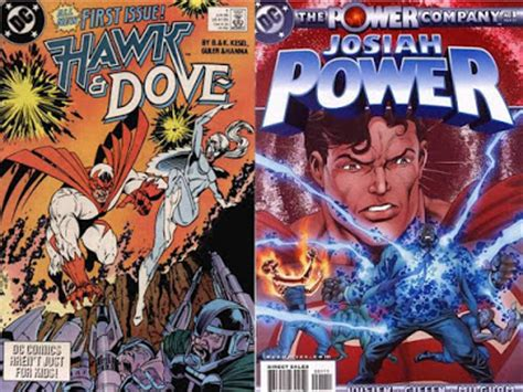 hawk dove 1 and 2 dave s comic heroes dc crossovers