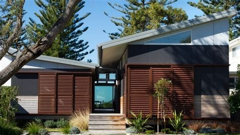 Small Efficient Home Plans Pavilion Style Beach House In Patonga Domain