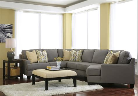 Sectional Sofas by Modern 4 Sectional Sofa With Right Cuddler