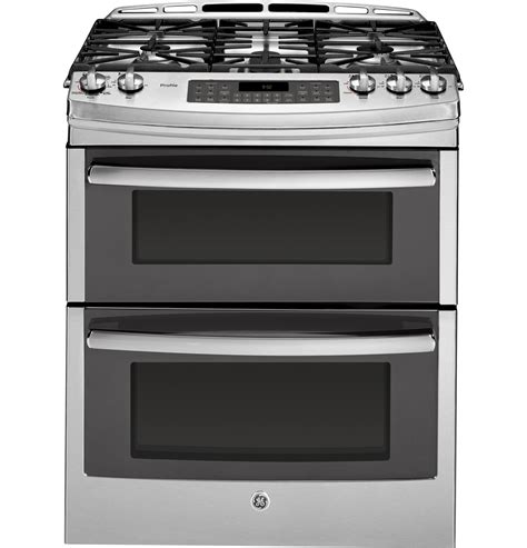 27 Inch Cooktop Ge Profile Series 30 Quot Slide In Front Control Double Oven