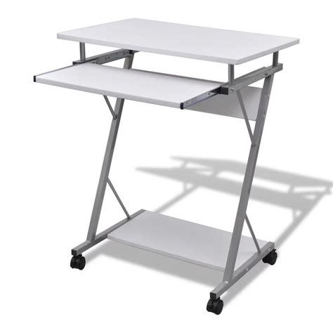 acheter table de bureau blanche pour ordinateur pas cher