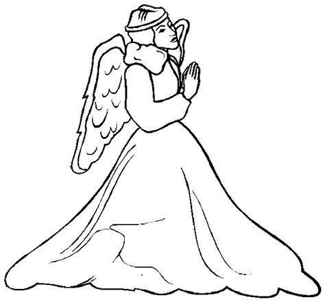 the promises of christmas coloring page angels and christmas angel coloring pages coloringpages1001 com