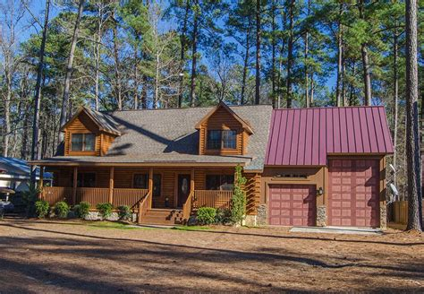 Cabin Home On The Hill by Log Home Located On Clark Hill Strom Thurmond Vrbo