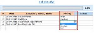 Excel To Do List Template by Excel To Do List Template 4 Exles Free