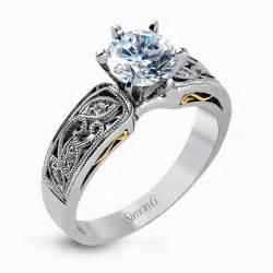 wedding rings on designer engagement rings and custom bridal sets simon g