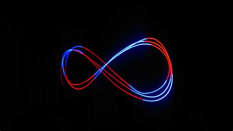 infinity html 3d infinity symbol white blue background infinity