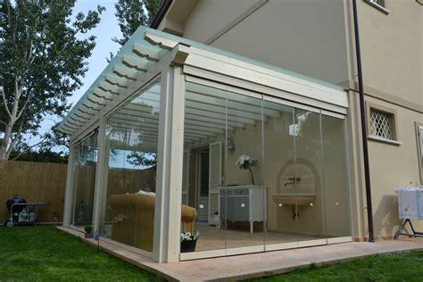 veranda in vetro prezzi photogallery verande porticati pergole