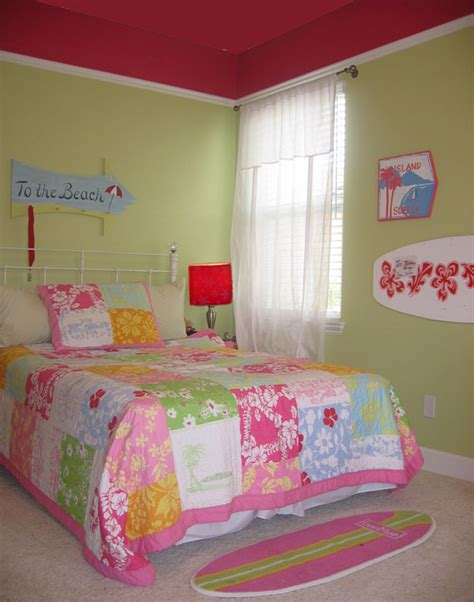surfer girl bedroom bed room gallery sensible chic interior design san diego