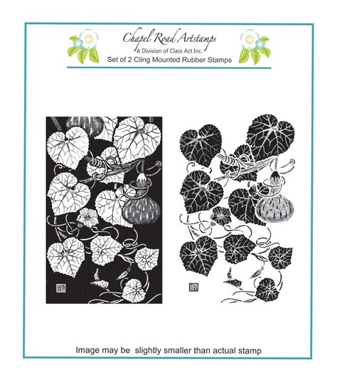 Chapel Road Set Gourds Cling Mounted Rubber St Joann