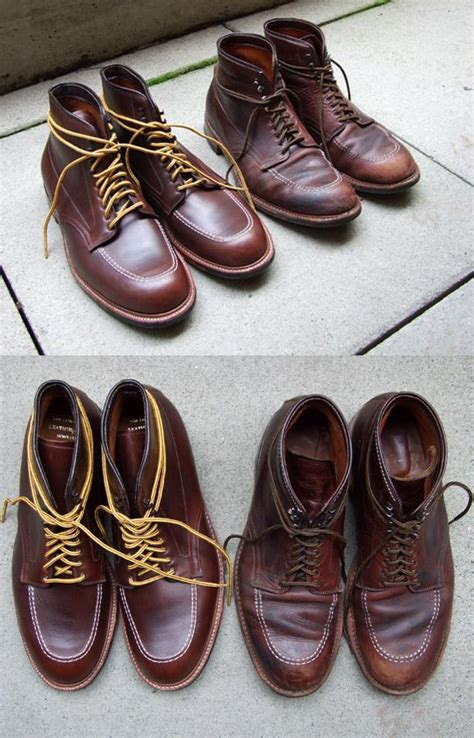 indy boat mart old and new alden indy boot men s style pinterest