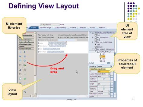 layout design in web dynpro abap abap web dynpro
