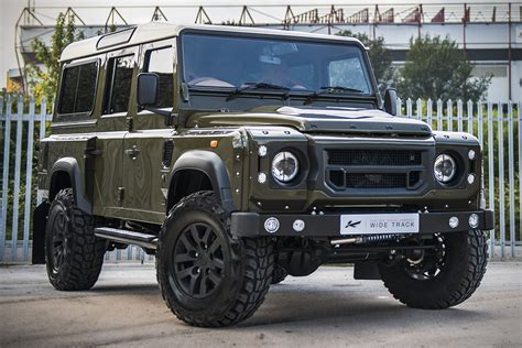 land rover defender 2016 khan land rover defender 110 by kahn design hiconsumption