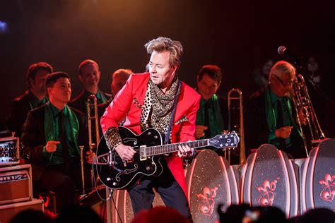 swing revival bands brian setzer beneath a desert sky