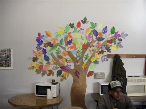 Hiasan Pintu 4 leaf by leaf cooperative sculpture activities and lessons for children and kinderart
