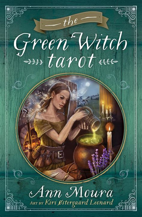the green witch tarot ann moura kiri ostergaard leonard amazon com mx libros