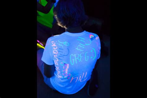 black light clothes glow in the 15 neon birthday ideas parentmap