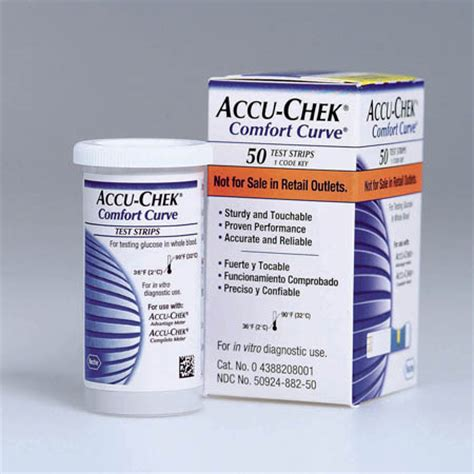 Roche Diagnostics Accu Chek Comfort Curve Strips Model