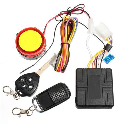 Alarm Suzuki 12v Universal Motorcycle Motorbike Scooter Compact Security Alarm System Remote Engine