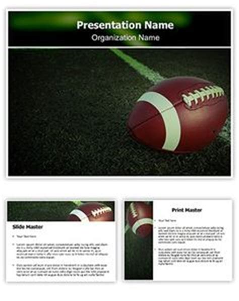 1000 Images About Powerpoint On Pinterest Ppt Template Templates And Ppt Presentation Free Football Powerpoint Template