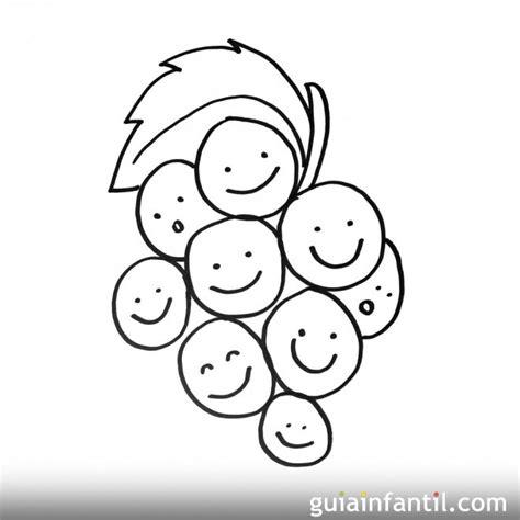 imagenes para pintar para niños dibujos de la cosecha de la uva para colorear y pintar