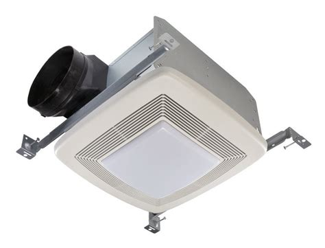 best bathroom exhaust fans with light broan qtxe110flt fluorescent light ultra silent bath fan