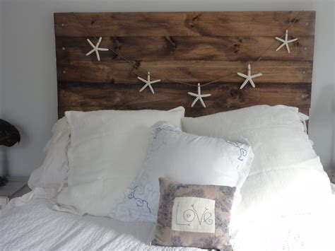 Wooden Headboard Designs Diy Project A Reclaimed Wood Heaboard Finding Silver Pennies