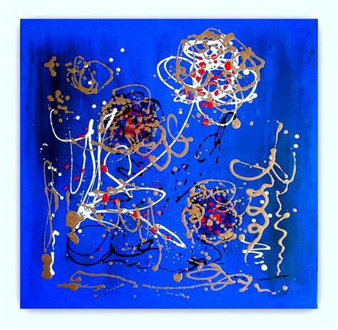 dipinti di fiori astratti quadri astratti moderni quot sanader quot dipinti a mano