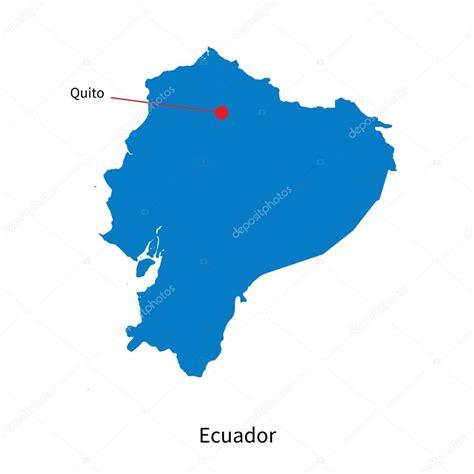 imagenes satelitales quito mapa detallado vector de ecuador y capital ciudad quito