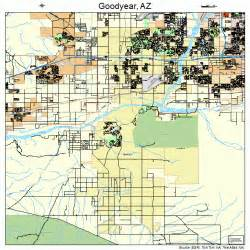 Goodyear Arizona Map by Goodyear Arizona Street Map 0428380