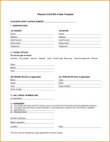 bill of sale agreement template boat purchase agreement template bluewater bay marina